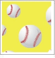 Baseball 06 - QuickStitch Embroidery Paper - One 8.5in x 11in Sheet