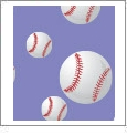 Baseball 03 - QuickStitch Embroidery Paper - One 8.5in x 11in Sheet - CLOSEOUT