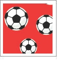 Just For Kicks - Soccer 09 - QuickStitch Embroidery Paper - One 8.5in x 11in Sheet - CLOSEOUT