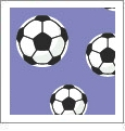 Just For Kicks - Soccer 08 - QuickStitch Embroidery Paper - One 8.5in x 11in Sheet - CLOSEOUT