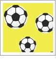 Just For Kicks - Soccer 04 - QuickStitch Embroidery Paper - One 8.5in x 11in Sheet - CLOSEOUT