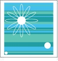 Starstruck Large 06 - QuickStitch Embroidery Paper - One 8.5in x 11in Sheet