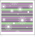 Starstruck Mini 01 - QuickStitch Embroidery Paper - One 8.5in x 11in Sheet