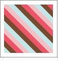 Diagonal Stripe 07 - QuickStitch Embroidery Paper - One 8.5in x 11in Sheet - CLOSEOUT