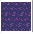 Wave 01 - QuickStitch Embroidery Paper - One 8.5in x 11in Sheet - CLOSEOUT