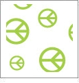 Peace Dude 09 - QuickStitch Embroidery Paper - One 8.5in x 11in Sheet - CLOSEOUT
