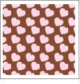 Hearts 03 - QuickStitch Embroidery Paper - One 8.5in x 11in Sheet - CLOSEOUT