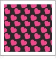Hearts 04 - QuickStitch Embroidery Paper - One 8.5in x 11in Sheet - CLOSEOUT