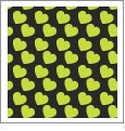 Hearts 05 - QuickStitch Embroidery Paper - One 8.5in x 11in Sheet - CLOSEOUT