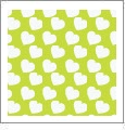 Hearts 06 - QuickStitch Embroidery Paper - One 8.5in x 11in Sheet - CLOSEOUT