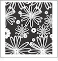 Floral Multi 05 - QuickStitch Embroidery Paper - One 8.5in x 11in Sheet - CLOSEOUT