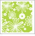 Floral Multi 06 - QuickStitch Embroidery Paper - One 8.5in x 11in Sheet - CLOSEOUT