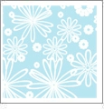 Floral Multi 07 - QuickStitch Embroidery Paper - One 8.5in x 11in Sheet - CLOSEOUT