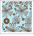 Floral Multi 08 - QuickStitch Embroidery Paper - One 8.5in x 11in Sheet - CLOSEOUT