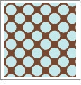 Dots 07 - QuickStitch Embroidery Paper - One 8.5in x 11in Sheet - CLOSEOUT
