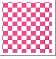 Checkers 02 - QuickStitch Embroidery Paper - One 8.5in x 11in Sheet - CLOSEOUT