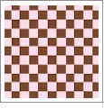 Checkers 03 - QuickStitch Embroidery Paper - One 8.5in x 11in Sheet
