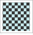 Checkers 05 - QuickStitch Embroidery Paper - One 8.5in x 11in Sheet - CLOSEOUT