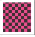 Checkers 07 - QuickStitch Embroidery Paper - One 8.5in x 11in Sheet