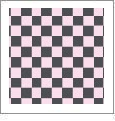 Checkers 09 - QuickStitch Embroidery Paper - One 8.5in x 11in Sheet