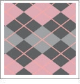Argyle 01 - QuickStitch Embroidery Paper - One 8.5in x 11in Sheet - CLOSEOUT