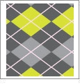Argyle 03 - QuickStitch Embroidery Paper - One 8.5in x 11in Sheet