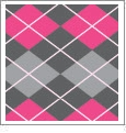 Argyle 04 - QuickStitch Embroidery Paper - One 8.5in x 11in Sheet