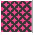 Retro Star 02 - QuickStitch Embroidery Paper - One 8.5in x 11in Sheet - CLOSEOUT