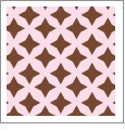 Retro Star 06 - QuickStitch Embroidery Paper - One 8.5in x 11in Sheet - CLOSEOUT