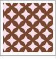 Retro Star 05 - QuickStitch Embroidery Paper - One 8.5in x 11in Sheet - CLOSEOUT