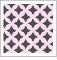 Retro Star 08 - QuickStitch Embroidery Paper - One 8.5in x 11in Sheet - CLOSEOUT