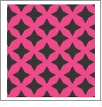 Retro Star 10 - QuickStitch Embroidery Paper - One 8.5in x 11in Sheet - CLOSEOUT
