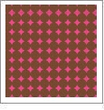 Dots Mini 04 - QuickStitch Embroidery Paper - One 8.5in x 11in Sheet - CLOSEOUT