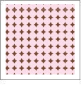 Dots Mini 07 - QuickStitch Embroidery Paper - One 8.5in x 11in Sheet - CLOSEOUT