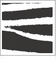 Zebra 01 - QuickStitch Embroidery Paper - One 8.5in x 11in Sheet- CLOSEOUT