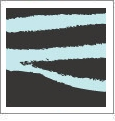 Zebra 09 - QuickStitch Embroidery Paper - One 8.5in x 11in Sheet - CLOSEOUT