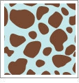 Cheetah 05 - QuickStitch Embroidery Paper - One 8.5in x 11in Sheet