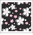 Pocket Full of Posies 09 - QuickStitch Embroidery Paper - One 8.5in x 11in Sheet