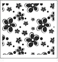 Pocket Full of Posies 10 - QuickStitch Embroidery Paper - One 8.5in x 11in Sheet- CLOSEOUT