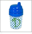 Baby's First Sippy Cup Acrylic Embroidery Blank - Blue