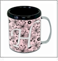 Snap Mug - 11 ounce - Embroidery Blanks - Black - CLOSEOUT