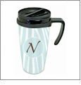 12oz Travel Mug Acrylic Embroidery Blank - CLOSEOUT
