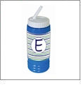 Sports Bottle Acrylic Embroidery Blank BLUE - CLOSEOUT