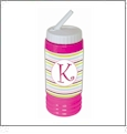 Sports Bottle Acrylic Embroidery Blank PINK - CLOSEOUT