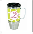 Stainless Steel Travel Mug Acrylic Embroidery Blank - CLOSEOUT