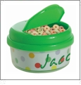 Snack Holder - 12 oz Acrylic Embroidery Blanks - Green