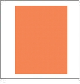 Orange - QuickStitch Embroidery Paper - One 8.5in x 11in Sheet- CLOSEOUT