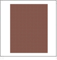 Brown - QuickStitch Embroidery Paper - One 8.5in x 11in Sheet - CLOSEOUT