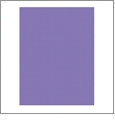 Purple - QuickStitch Embroidery Paper - One 8.5in x 11in Sheet