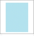 Aqua - QuickStitch Embroidery Paper - One 8.5in x 11in Sheet
